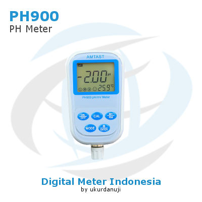 Pengukur pH Meter AMTAST PH900