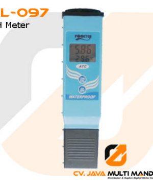 pH Meter Tahan Air Akurasi Tinggi AMTAST KL-097