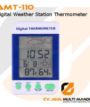 Thermometer Digital Pemantau Cuaca AMTAST AMT-110