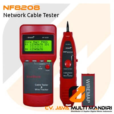 Network Cable Tester AMTAST NF8208 rk Cable Tester