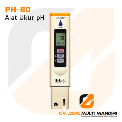 Ukur pH Meter AMTAST PH-80