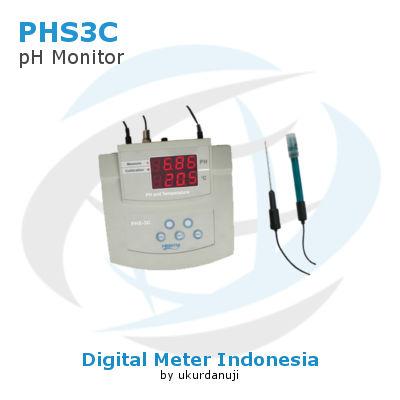 Alat Ukur Bench pH Meter AMTAST PHS3C