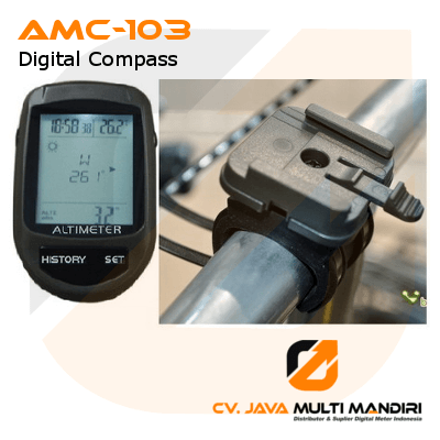 Bicycle 8-in-1 Digital Compass AMTAST AMC-103
