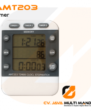 Digital 3 Channel Timer Clock and Stopwatch AMTAST AMT203
