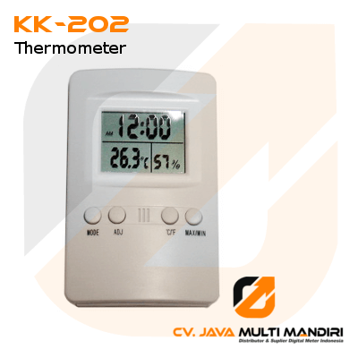 Termometer Hygro dan Jam AMTAST KK-202
