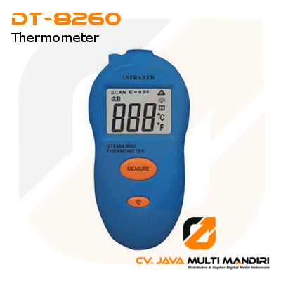Portable IR Thermometer AMTAST DT-8260
