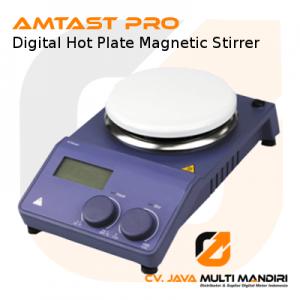 Digital Hot Plate Magnetic Stirrer Porcelain Plate AMTAST PRO