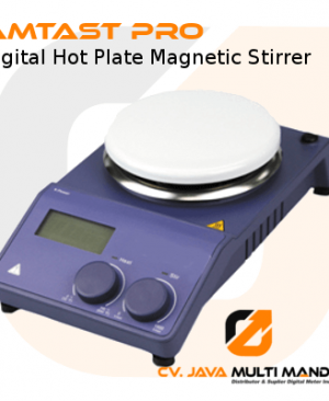 Digital Hot Plate Magnetic Stirrer Porcelain Plate AMTAST PRO