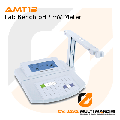 Lab Bench pH-mV Meter AMT12