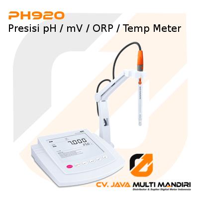 Presisi pH-mV-ORP-Temp Meter Seri PH920