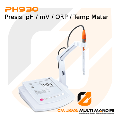 Presisi pH-mV-ORP-Temp Meter Seri PH930