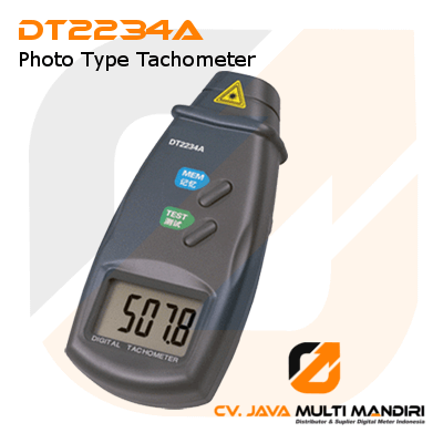 Photo Type Tachometer AMTAST DT2234A
