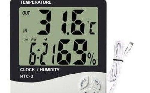 Thermo Hygro (Alat Pengukur Suhu Udara dan Kelembaban)