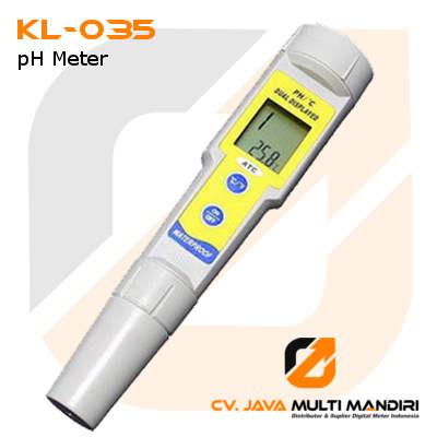 Alat Ukur pH Tahan Air AMTAST KL-035