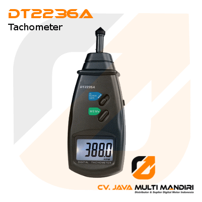 Contact Tachometer Surface Speed Meter AMTAST DT2236A