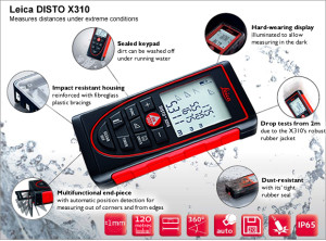 leica-disto-x310-waterproof-at-a-glance