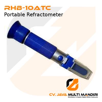 Refraktometer Analog Portabel AMTAST RHB-10ATC