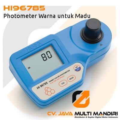 HI96785 Photometer Warna untuk Madu