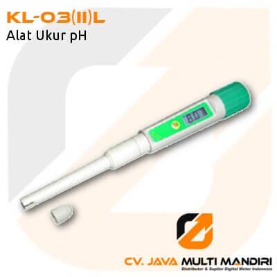 Alat Ukur pH AMTAST KL-03(II)L