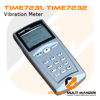 Vibration Meter  TIME7231 Dan TIME7232