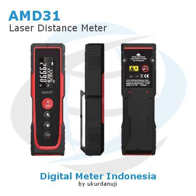 Meteran Laser Tipe Pulpen AMTAST AMD31