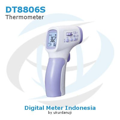 Termometer Inframerah AMTAST DT8806S