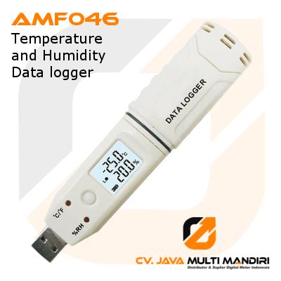 Data logger Suhu dan Kelembaban AMTAST AMF046