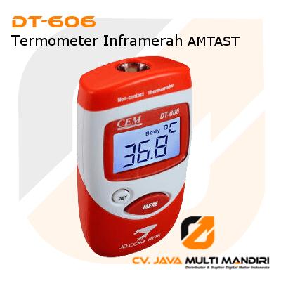 Termometer Inframerah AMTAST DT-606