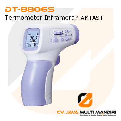 Termometer Inframerah AMTAST DT-8806S