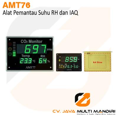 Alat pemantau suhu RH dan IAQ AMTAST AMT76