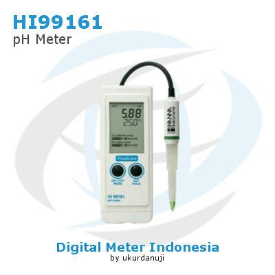 Alat Ukur pH Meter HANNA INSTRUMENTS HI99161