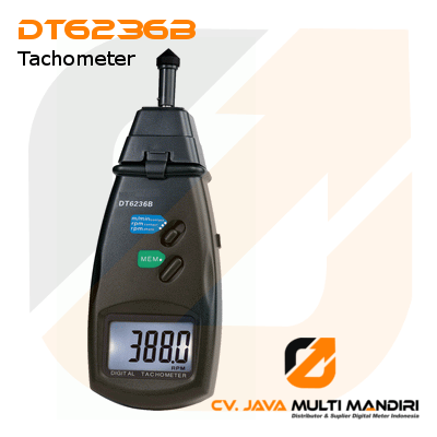 Photo-Contact Tachometer Surface Speed Meter AMTAST DT6236B