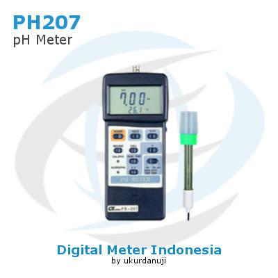 Alat Ukur pH Lutron PH-207