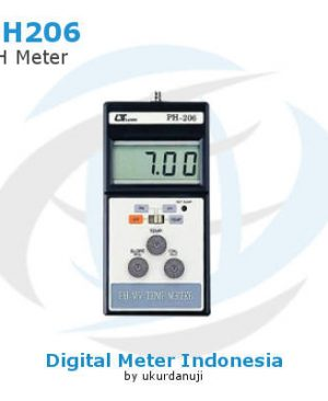 Alat Ukur pH Lutron PH-206