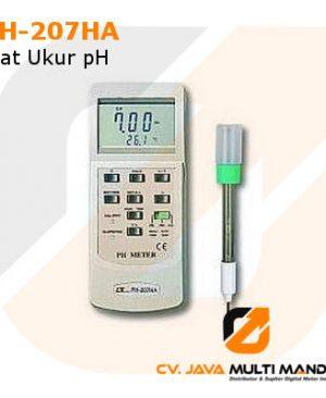 Alat Ukur pH Lutron PH-207HA