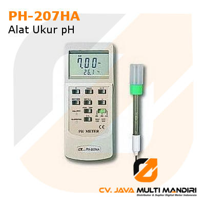 Alat Ukur pH Lutron PH-207HA
