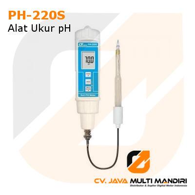 Alat Ukur pH Lutron PH-220S