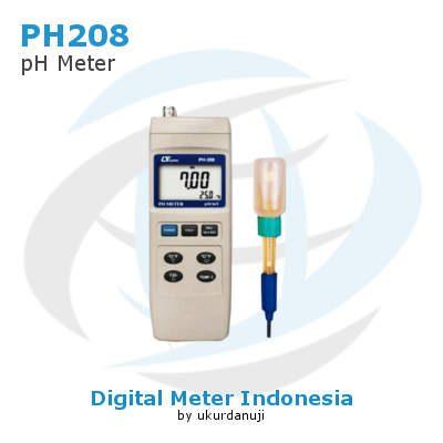 Alat Ukur pH Lutron PH208