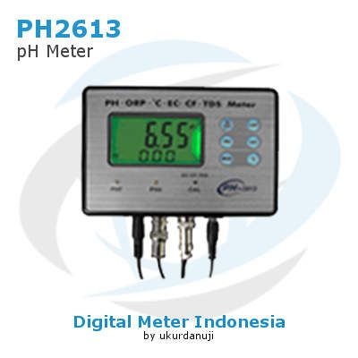 Alat Ukur pH Multifungsi AMTAST PH2613