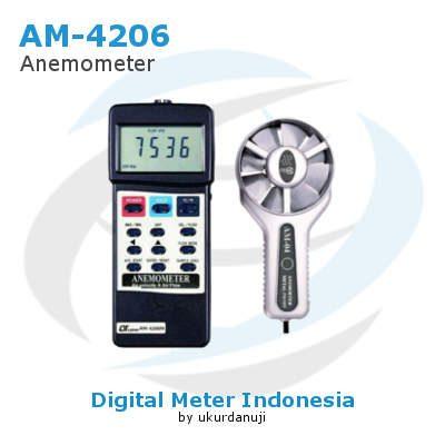 Alat Ukur Anemometers Digital LUTRON AM-4206