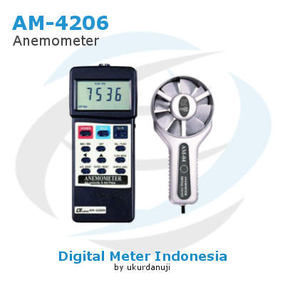 Alat Ukur Anemometers Digital LUTRON AM-4206