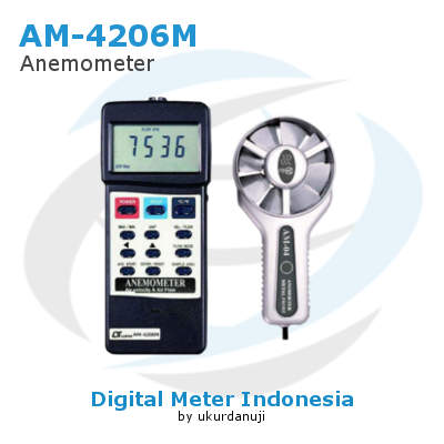Alat Ukur Anemometers Digital LUTRON AM-4206M
