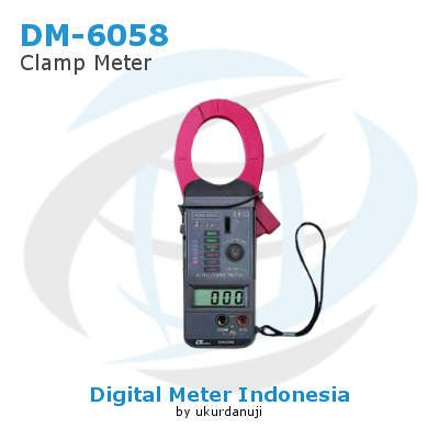 Clamp Meter Digital Lutron DM-6058