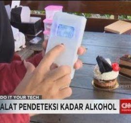 Alat Pendeteksi Alkohol pada Makanan